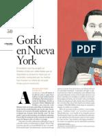 Gorki en Nueva York