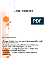 Tugas Casing Seat Selection