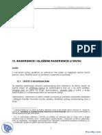 Raskrsnice u Nivou - Skripte - Saobracajni Fakultet PDF
