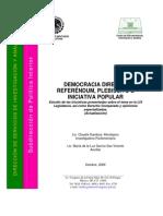 Democracia Directa, Referéndum, Plebiscito e Iniciativa Popular