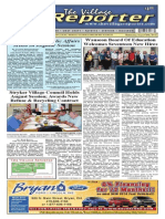 The Village Reporter - August 20th, 2014