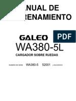 Training Manual WA380-5L