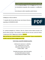 Www.cmisp.com.Br Sistemalocal Central Aluno Material 2013 Portugues 8 Exercicios Para Estudo - Tipos de Discurso