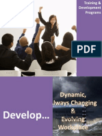 Training & Development Programs