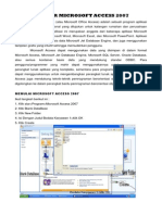 Belajar Microsoft Access 2007