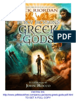 Percy Jackson's Greek Gods PDF Free Download