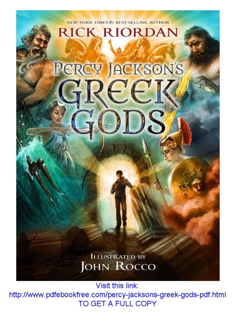 Percy Jackson's Greek Gods PDF Free Download | Rick ...