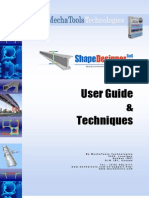 User Guide Shape Designers a As