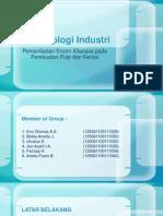 Enzim Xilanase untuk Industri Pulp dan Kertas