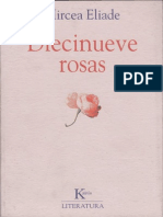 Eliade Mircea - Diecinueve Rosas