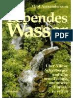 [Olof Alexandersson] Lebendes Wasser Über Viktor Schauberger