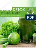Nikki Sharp 5 Day Detox 3rd Edition