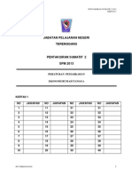 ERT Kertas 2 Pep Pertengahan Tahun Ting 5 Terengganu 2013