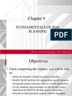 Chapter 9 SQA Planning