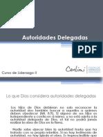 Las Autoridades Delegadas