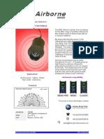 Ultrasonic airborne leak detector