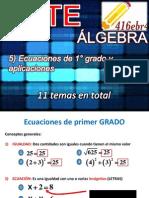 Álgebra y trigonometría, parte 2 de 2 (Para el 2° Examen)