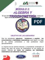 Álgebra y trigonometría, parte 1 de 3 (Para el 1°Examen)