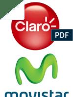 Logotipos de Claro Movistar Nextel
