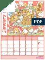 2011 San Rio Calendar