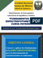 Fundamentos de Espectrofotometría y Curva Patrón