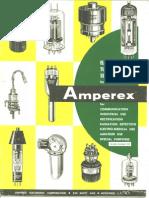 Amperex Vacuum Tubes 1959