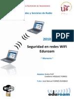 Seguridad en Redes Wifi Eduroam