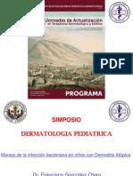 1.Manejo de la infeccion bacteriana en niños con Dermatitis Atopica