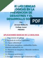 Ciencias Geologicas Prevencion de Desastres y Desarrollo