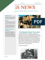 gregory cgs news newcastle earthquake