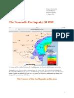 the newcastle earthquake of 1989