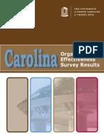 2010 Effectiveness Survey