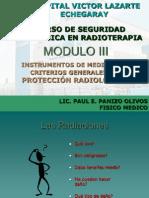 Modulo III Instrumentacion y Criterios de Pr