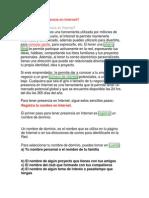 Dominio Web Anel