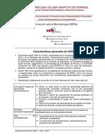 Informacion Diplomado en Metodologia CEFE USMP