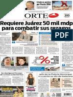 Periódico Norte edición del día 20 de agosto de 2014