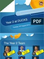 year 2 curriculum evening 2014-2015