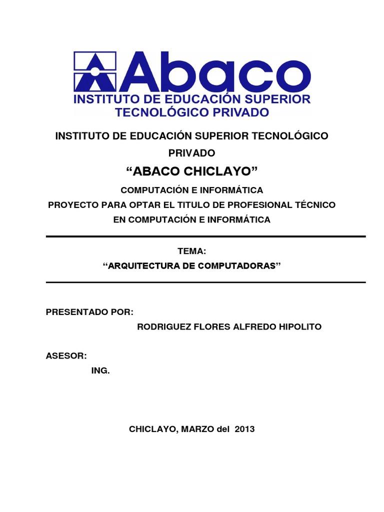 Monografia Arq.compu