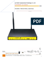 F3434 WCDMAHSDPAHSUPAHSPA+ WIFI ROUTER on M2M Fields