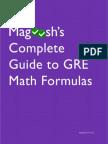 Magoosh GRE Math Formula
