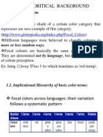 Basic Color Terms (1)