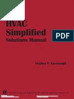 182694255 HVAC Simplified Solution Manual PDF