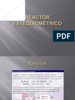 Reactor Estequiom Trico