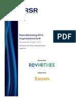 Retail Marketing 2013_Organizational Drift