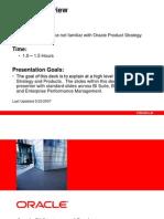 Oracle BI Strategy 11g
