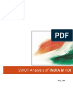 SWOT Analysis_FDI in India