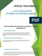 Principles Teaching 2