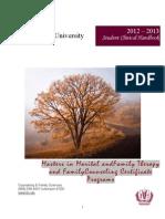 MFT Clinical Training Handbook