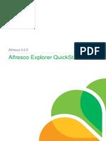 Alfresco Explorer QuickStart
