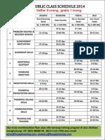Jadwal Public Class 2014 (Edit)